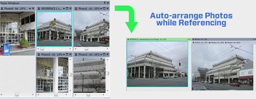 Tip 80: Arranging your photos while referencing 2