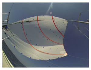 Spinnaker with targets