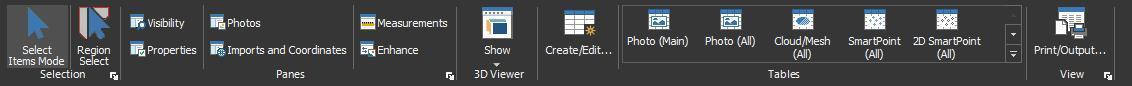 PhotoModeler 2019 – User Interface Revamp - Key Concepts 23