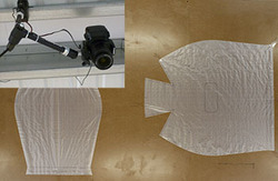 Mounted Camera and Pattern on Table Mosaic