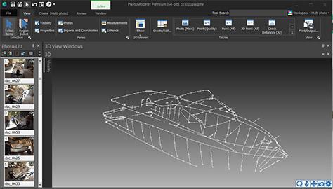 PhotoModeler 3D Canvas Templating Project