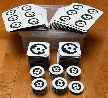 PhotoModeler Letter Sheets Full Set