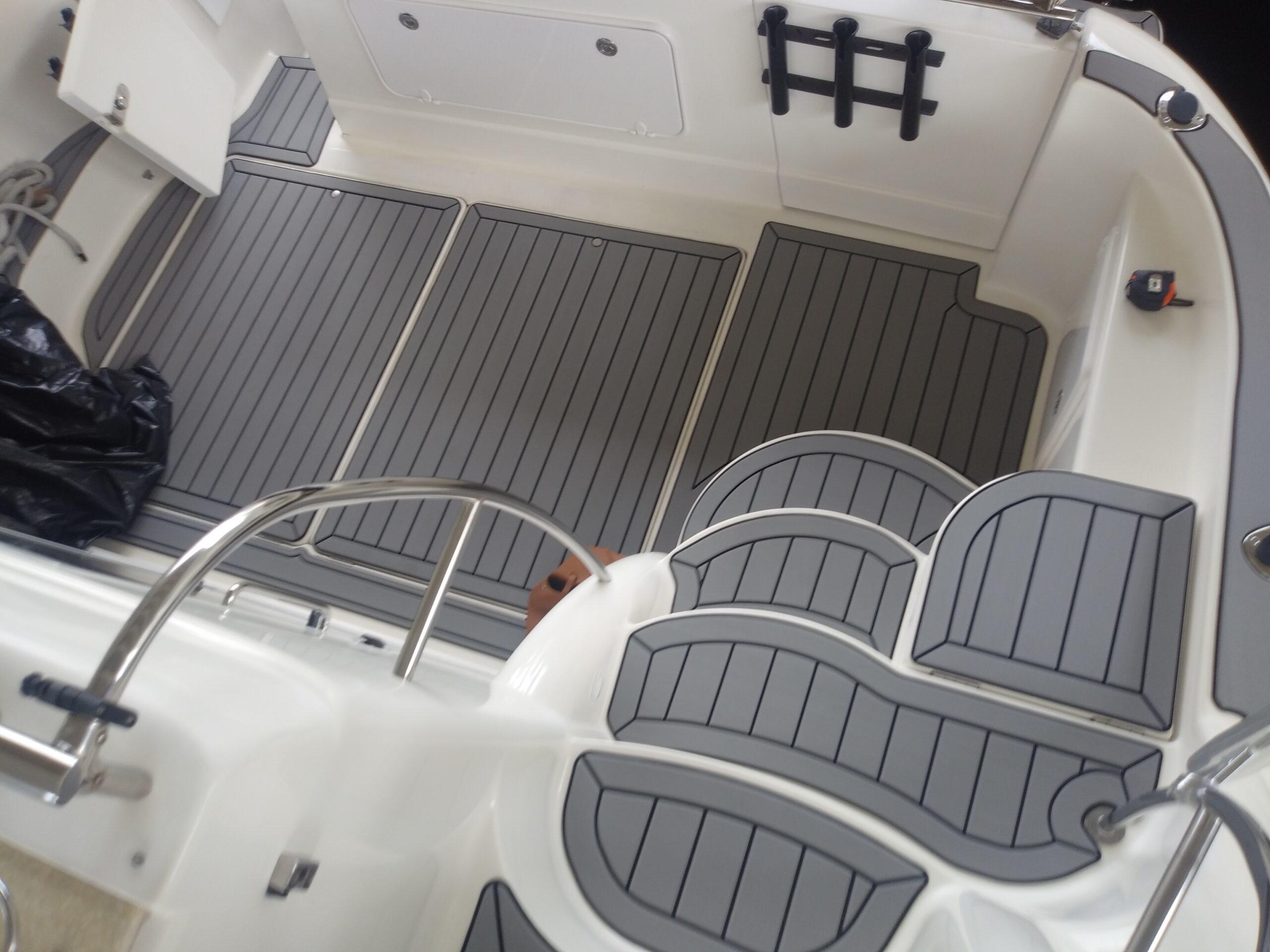 Marine Deck Floor Replacement