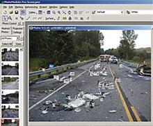 PhotoModeler UI Accident Scene